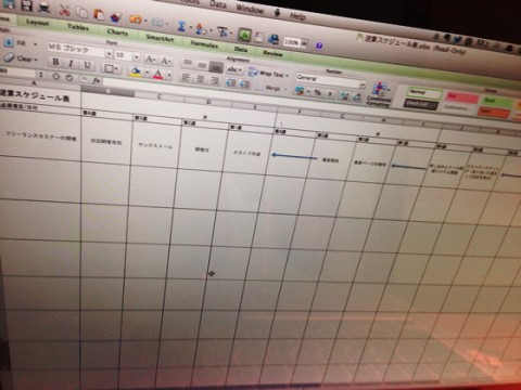 あなたの将来へのスケジュールはどうなっていますか?